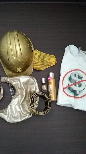 Gold digger, broke ni66er halloween couples' costume for Sale in Washington, DC