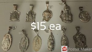 Sterling Silver Charms. Assorted Styles ALL 9.25 Silver for Sale in Escondido, CA