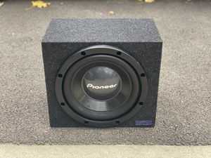 12 pioneer subwoofer 800 watts max 400 rms for Sale in Sleepy Hollow, IL