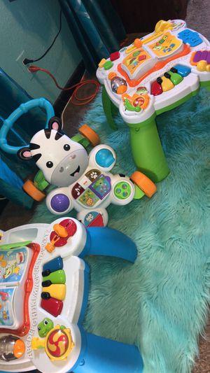 Activity set & walker toy for Sale in San Antonio, TX