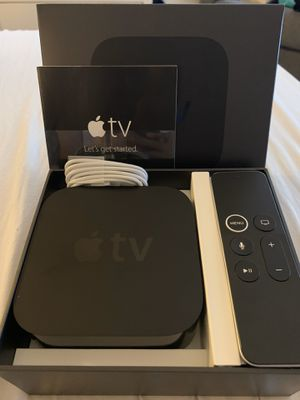 Apple TV 4th Generation A1625 32GB - Like New FIRM $120.00 for Sale in Garden Grove, CA