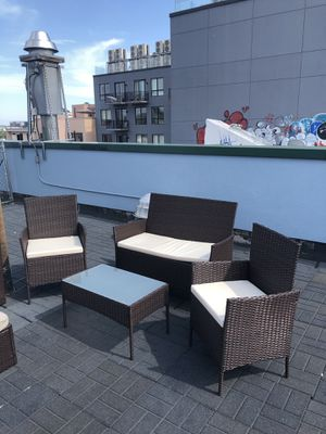 Outdoor furniture set for Sale in Brooklyn, NY