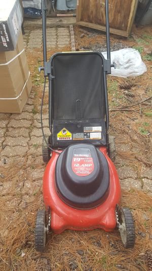 Yard Machines Electric Lawn Mower for Sale in Columbia, MD