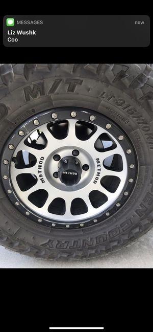 Method NV Wheels 17x8.5 for Sale in Perris, CA