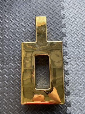 Z Gallerie Gold Tall Vase for Sale in Miami, FL