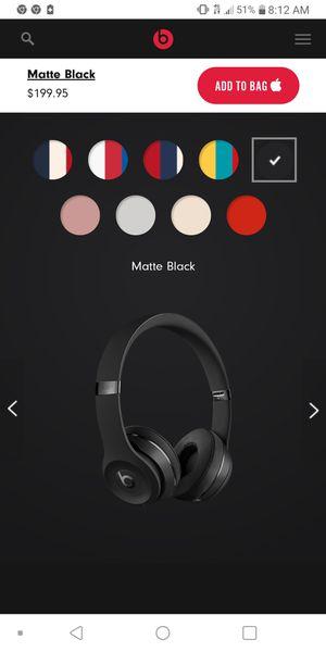 Beats Solo 3 Wireless Headphones for Sale in Lakewood, CA