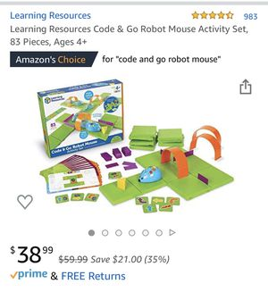 Code and Go Robot Mouse for Sale in Norco, CA
