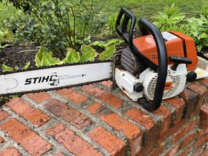 "Stihl Chain Saw 18"" new blade and bar Homeowner used for Sale in Crownsville, MD"