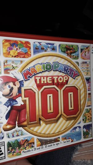 Mario party the top 100 Nintendo 3DS for Sale in Hesperia, CA