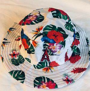 LA angels anaheim HAWAIIAN BUCKET fishermans hat / cap - NEW for Sale in Irvine, CA