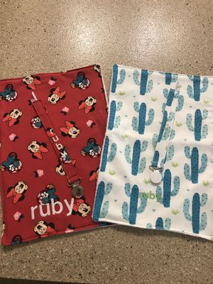 Personalized Burp Cloth/Binky Clip for Sale in San Tan Valley, AZ