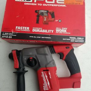 M18 FUEL 18-Volt Lithium-Ion Brushless Cordless 1 in. SDS-Plus Rotary Hammer (Tool-Only) $225 for Sale in Houston, TX