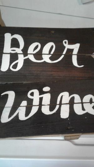 beer and wine sign for Sale in Norfolk, VA