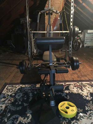 Home gym with some weights for Sale in Chicago, IL