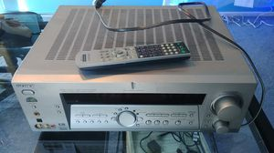 Sony Stereo Receiver STR-DE885 + Remote + Subwoofer + 2 front speakers Dolby 5.1 Home Theater WORKING for Sale in Los Angeles, CA