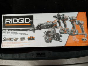 Ridgid 5 piece tool set- new for Sale in Bothell, WA