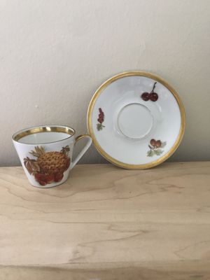 Antique Bavarian China teacup and saucer for Sale in Nashville, TN