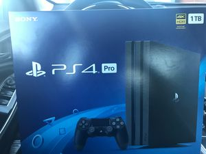 Brand new still in the Box PS4 Pro 1TB just in time for early Christmas shopping for Sale in Atlanta, GA