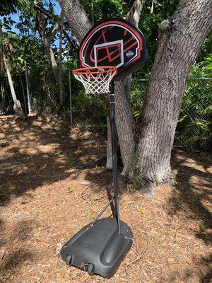 Adjustable Lifetime Basketball hoop for Sale in Miami, FL