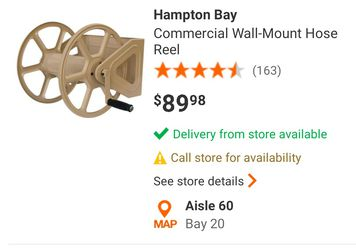 Hampton Bay Dual Mount Hose Real  for Sale in Mesquite, TX