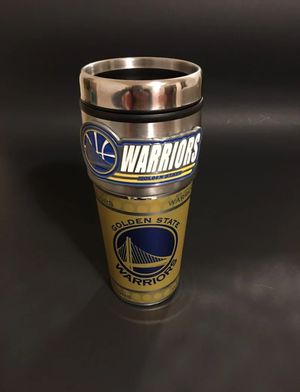 The warriors thermal cup for Sale in Ashland, OR