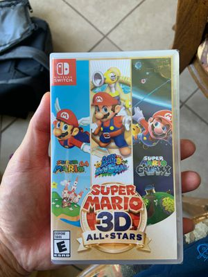 Nintendo Switch Super Mario 3D All Stars. Brand New 3 games in 1 for Sale in Chino Hills, CA