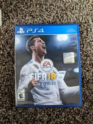 FIFA 18 for PS4 for Sale in Mesa, AZ
