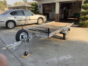 Flat bed trailer for Sale in Fresno, CA