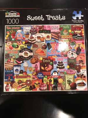"""White Mountain puzzle """"Sweet Treats"""" for Sale in Snohomish, WA"""