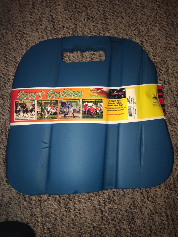 Sport Cushions, 2 pack- Keeps you Comfortable, Warm and Dry. ThermaSeat