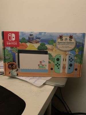 Nintendo Switch NEW V2 Animal Crossing Edition for Sale in Marina del Rey, CA