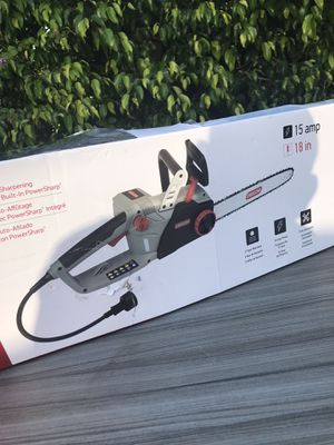 """Chain saw 18"""" electric $95 new for Sale in Los Angeles, CA"""