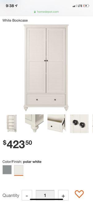 White Bookcase BRAND NEW for Sale in Philadelphia, PA