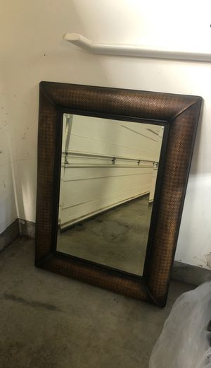Bronze finish wall mirror for Sale in Olympia, WA