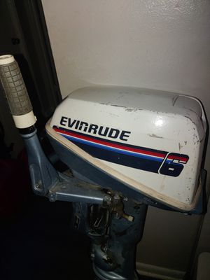 Eventide 6hp 2 stroke gas outboard engine for Sale in Denver, CO