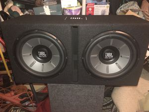 JBL SUBS WITH AMP AND POWER CORDS for Sale in Centreville, VA