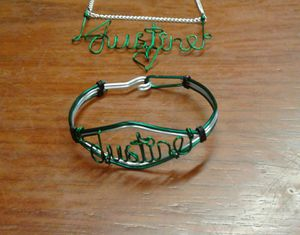 Custom Wire Nameplate Combo-Set for Sale in Cleveland, OH