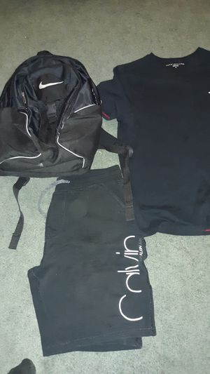 New cloths and backpack for Sale in Las Vegas, NV