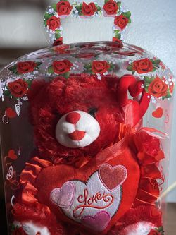 Valentine's Plush Bear for Sale in Silver Spring,  MD