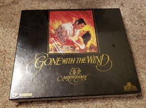 Gone With The Wind 50th Anniversary VHS Commerative limited edition; brand new never opened see pics before buying for Sale in Wellington, FL