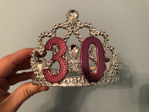 Tiara for a 30th for Sale in Tuckerton, NJ