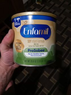 Brand New Enfamil Soy ProSobee 20.9oz Cans for Sale in Santa Ana, CA