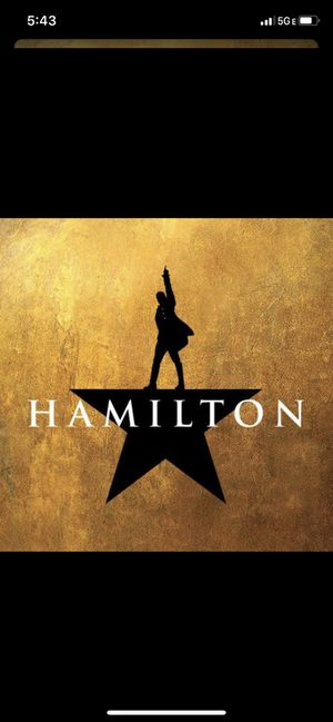 Valentine's Day tickets to Hamilton for two for Sale in Daly City, CA