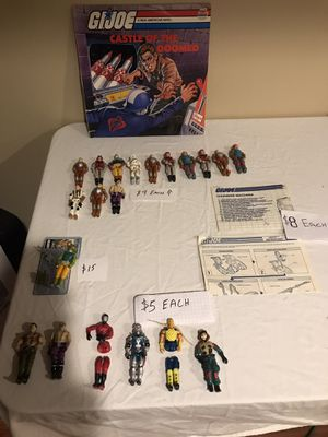 Vintage Gi Joe ARAH Action Figures for Sale in Arnold, MO