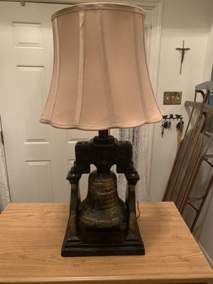 Vintage Liberty Bell Lamp for Sale in Aberdeen, MD