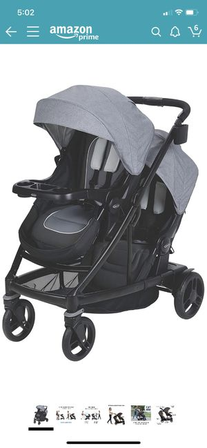 Graco uno2duo double stroller for Sale in Joint Base Lewis-McChord, WA