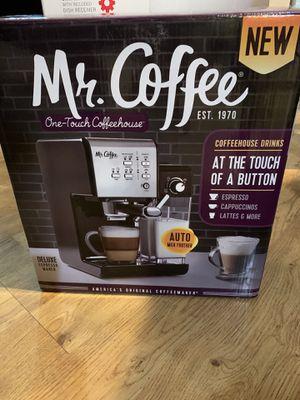 Mr coffee maker one touch espresso maker new for Sale in La Habra, CA