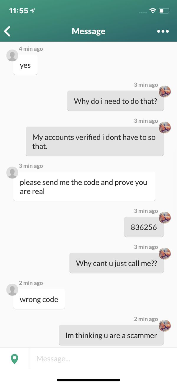 SCAMMER DONT ACCEPT