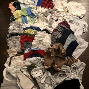 O-3 Month Baby Boy Clothes for Sale in Citrus Heights, CA