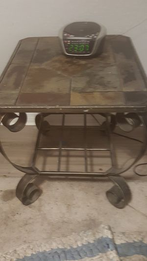 SLATE end table for Sale in Winter Garden, FL